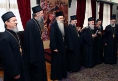 Патријарх Иринеј са епископима