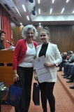Катарина Лазић са ментором Татјаном Жигић