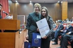 Марија Стевановић са ментором Јасмином Стевановић