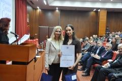 Милена Чантрак, Ужице, са ментором Оливером Шопаловић