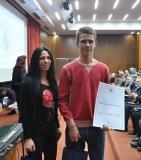 Ненад Вукановић, Краљево, са ментором, Слађаном Каровић