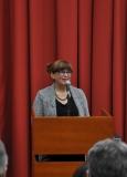 Председница жирија проф. др Зона Мркаљ саопштава резултате конкурса