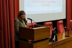 Председница Жирија Зона Мркаљ саопштава резултате Светосавског конкурса