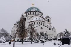 Храм Светог Саве, 26. јануара 2019. године