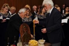 Домаћин славе проф. др Љубинко Раденковић