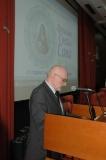 Glavni urednik SКZ Dragan Lakicevic govori posle dodele medalje