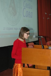 Milica Todorovic cita svoj rad